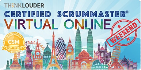 Virtual Live Online CSM   West Coast   Mar 6-7 tickets