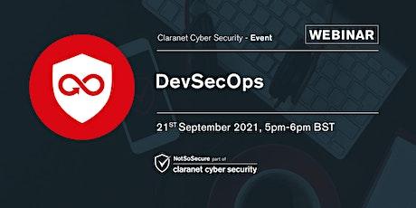 DevSecOps - Webinar tickets