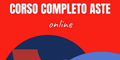 CORSO COMPLETO ASTE - ONLINE biglietti