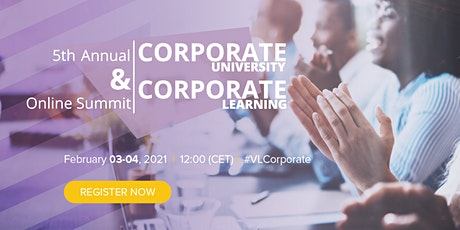 5th Annual Corporate University & Corporate Learning Summit tickets