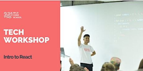 Tech Workshop - Build your first React App ⚛️ tickets