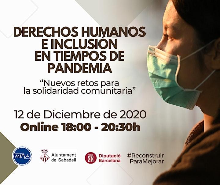 Imagen de JORNADA DE DERECHOS HUMANOS E INCLUSIÓN EN TIEMPOS DE PANDEMIA