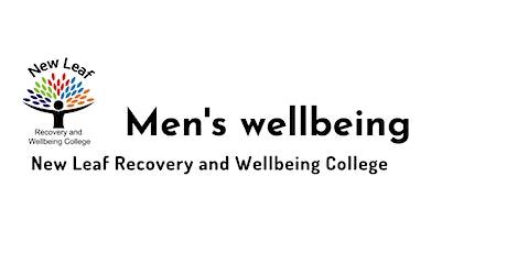Men's wellbeing tickets
