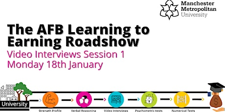 AFB learning to earning roadshow- Video Interviews tickets
