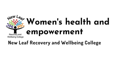 Women's health and empowerment tickets