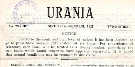 Urania, Esther Roper and Eva Gore-Booth tickets