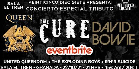 CONCIERTO ESPECIAL TRIBUTO A QUEEN, THE CURE Y DAVID BOWIE: GRANADA|EL TREN tickets
