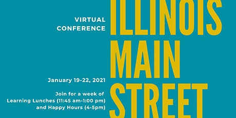 Illinois Main Street Virtual Conference tickets