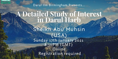 A Detailed Study of Interest In Darul Harb
