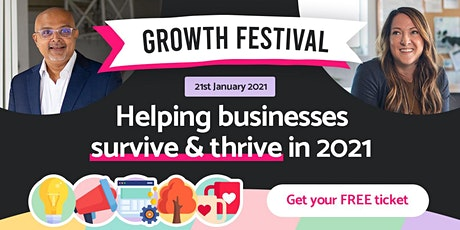 Growth Festival tickets
