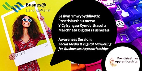 Social Media and Digital Marketing Apprenticeships Information Session tickets