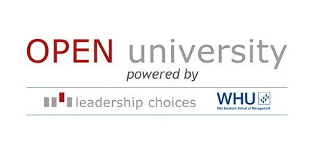 OPEN University  - powered by LC & WHU tickets