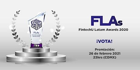FintechU  Latam Awards 2020 entradas
