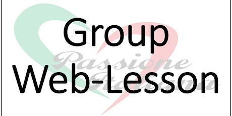 Web-Lesson: Italian Pronunciation tickets