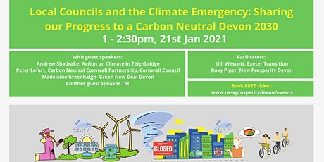 Devon Councils and the Climate Emergency: Progress to Carbon Neutral 2030 tickets