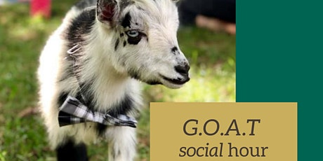 G.O.A.T. Social Hour at Lost Boy Cider tickets
