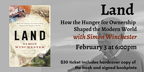 Land with Simon Winchester tickets