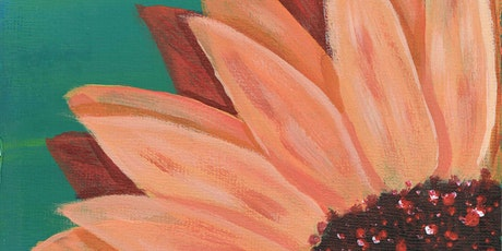 Paint Party: Teal Flower tickets