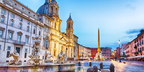 Navona square and Caravaggio's painting tickets