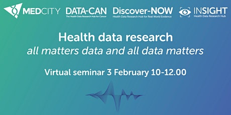 Health Data Research- all matters data and all data matters tickets