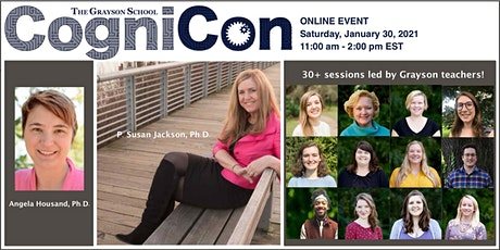 CogniCon Online with The Grayson School tickets