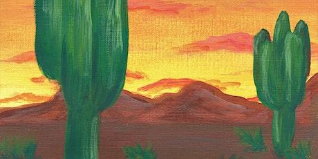 Paint Party: Desert Sunrise tickets