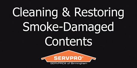 Virtual Cleaning & Restoring Smoke-Damaged Contents CE Course (2hr) tickets