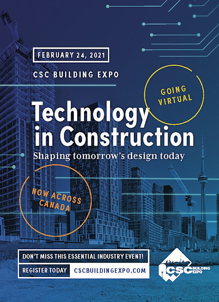 CSC Building Expo 2021 - FREE Attendee Registration image