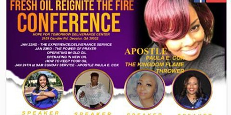 Fresh Oil Reignite the Fire Conference tickets