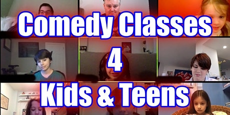 Comedy 4 Kids 4-7 Online Classes tickets