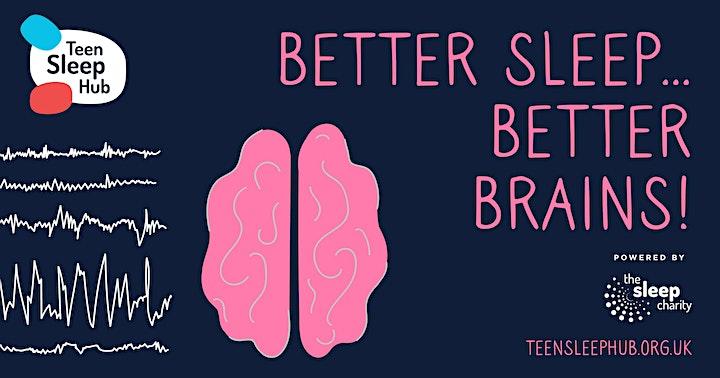 Secondary Schools Webinar: Let's talk sleep for teens! image