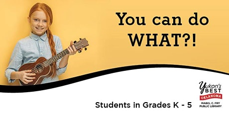 You can do WHAT?! - Student Talent Showcase tickets