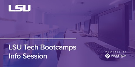 Online Info Session | LSU Tech Bootcamps tickets