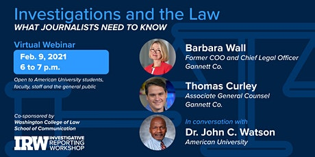 Investigations and the Law: What Journalists Need to Know tickets