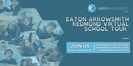 Eaton Arrowsmith Redmond 's Virtual School Tours 2021 tickets