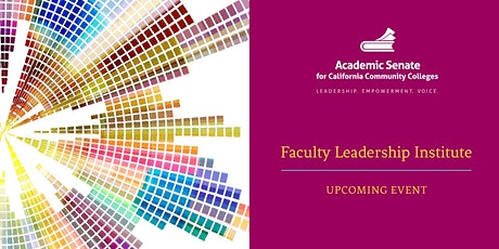 2021 Faculty Leadership Institute - Virtual Event tickets