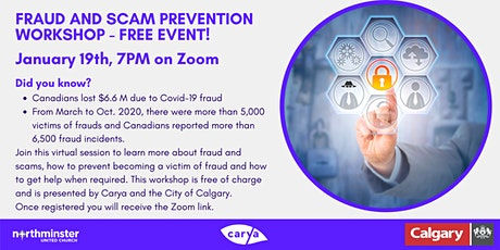 Fraud and Scams Online Workshop tickets