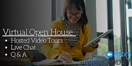 Virtual Housing Open House tickets