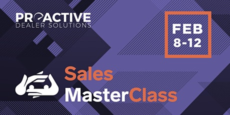 February - Sales MasterClass tickets