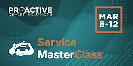 March  - Service MasterClass tickets
