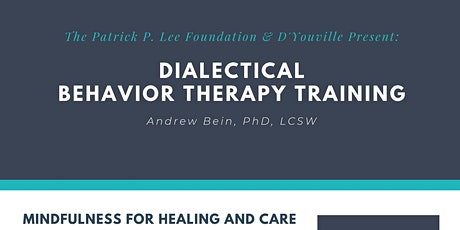 Dialectical Behavior Therapy Training tickets