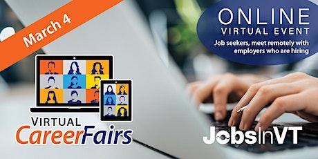 Virtual VT Career Fair tickets