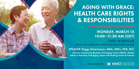 Aging with Grace: Health Care Rights & Responsibilities tickets