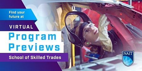 NAIT Program Preview - School of Skilled Trades tickets
