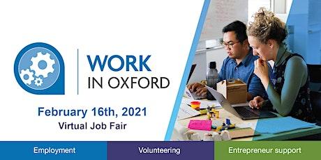 Work In Oxford Virtual Job Fair tickets