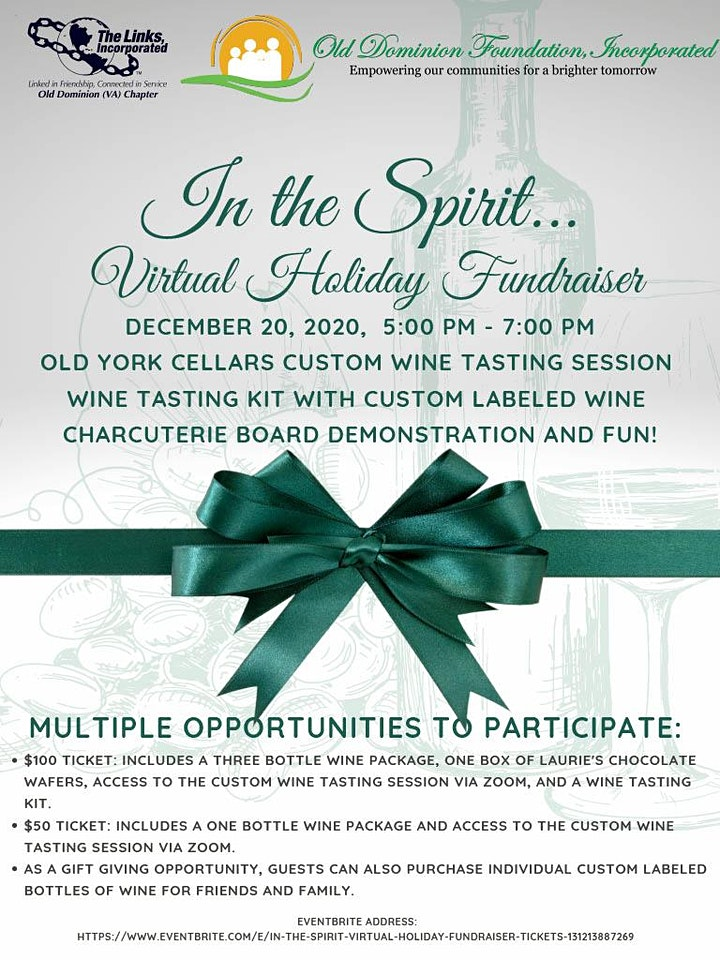 In the Spirit Virtual Holiday Fundraiser image