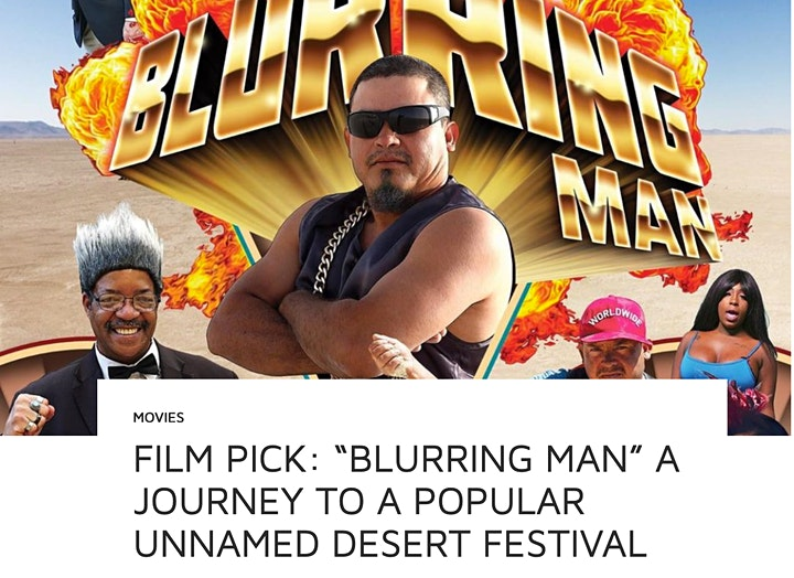 Rogue Cinema Drive-In: The Burning Man Forbidden Film Festival image
