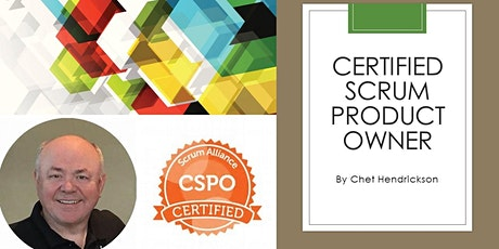 Certified Scrum Product Owner® (CSPO)-Taught by Chet Hendrickson bilhetes