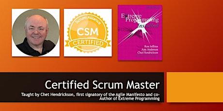 Certified ScrumMaster®  Chet Hendrickson, 1st Signatory to Agile Manifesto tickets