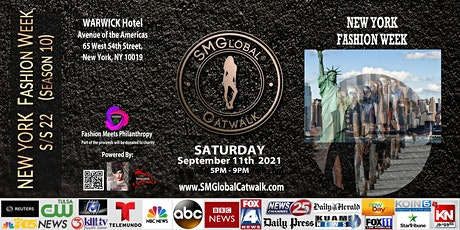 NEW YORK FASHION WEEK S/S 22 - September 11th 2021 entradas